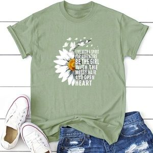 Green Be The Girl Tee